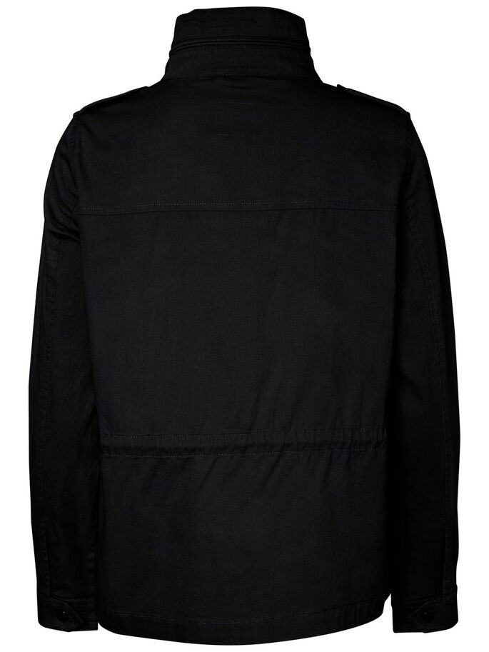 COURT PARKA, Black Beauty, large