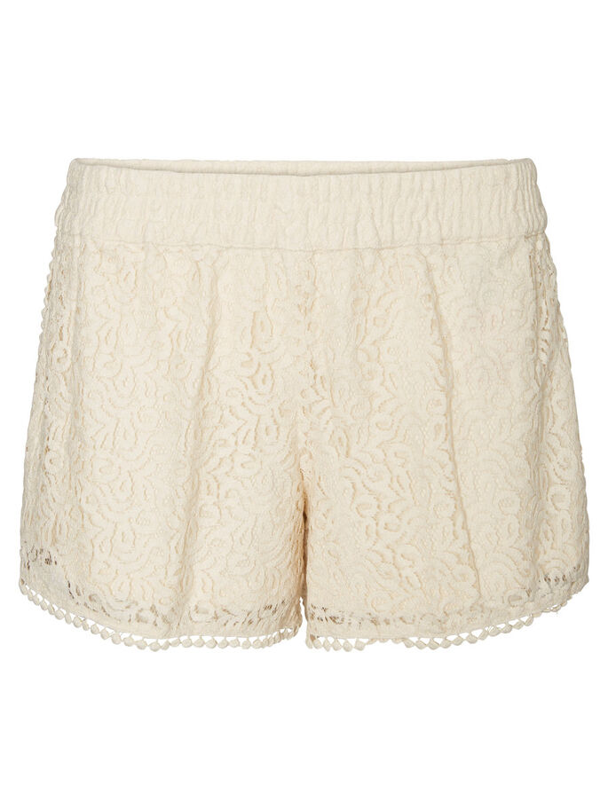 LACE SHORTS, Buttercream, large