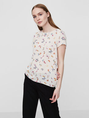 BUTTERFLY SHORT SLEEVED TOP