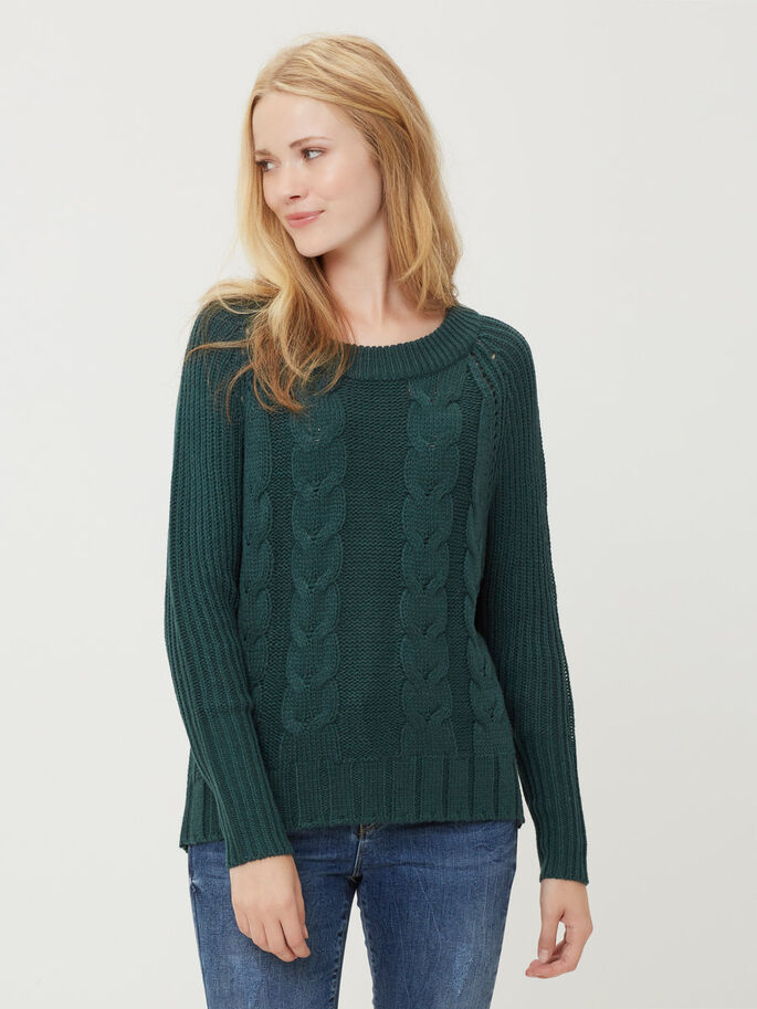 LONG SLEEVED PULLOVER, Ponderosa Pine, large