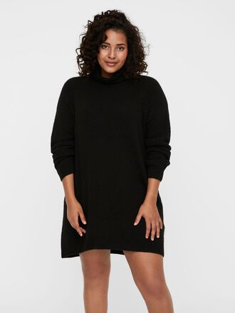 COL MONTANT LONG ROBE EN MAILLE