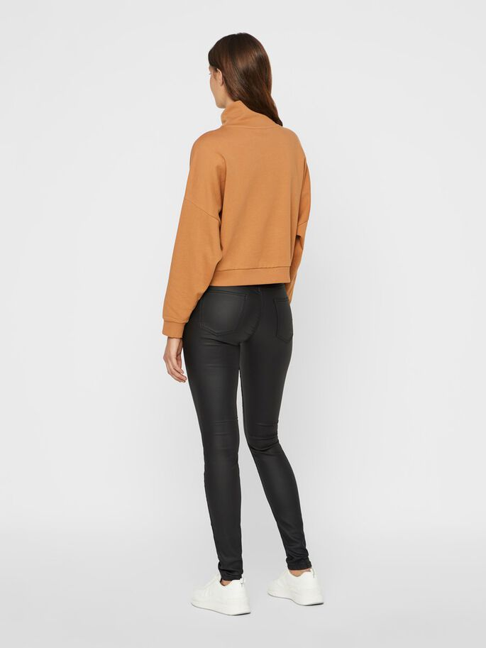 LUCY NW ENDUIT PANTALON, Black, large