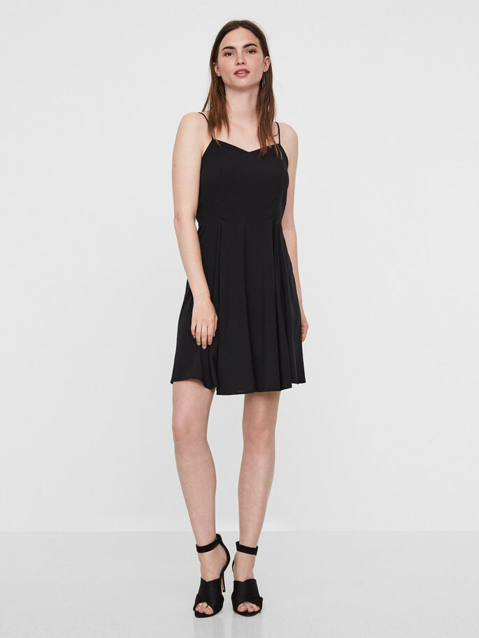 SANS MANCHES ROBE, Black Beauty, large