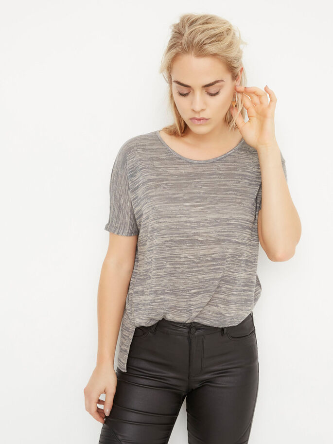 LOOSE FIT T-SHIRT, Smoked Pearl, large