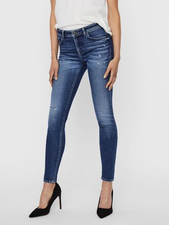 VMLUX REGULAR WAIST SLIM FIT JEANS