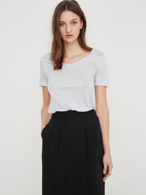 CASUAL SHORT SLEEVED TOP