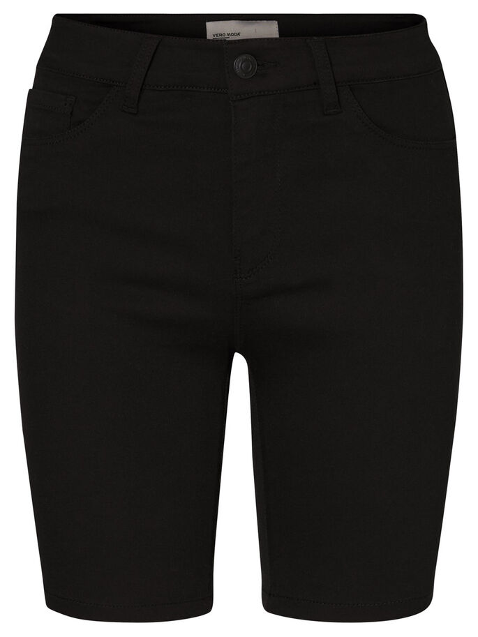 SEVEN NW LONG SHORTS, Black, large