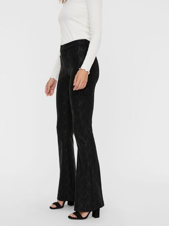 NORMAL WAIST ANIMAL COATED TROUSERS