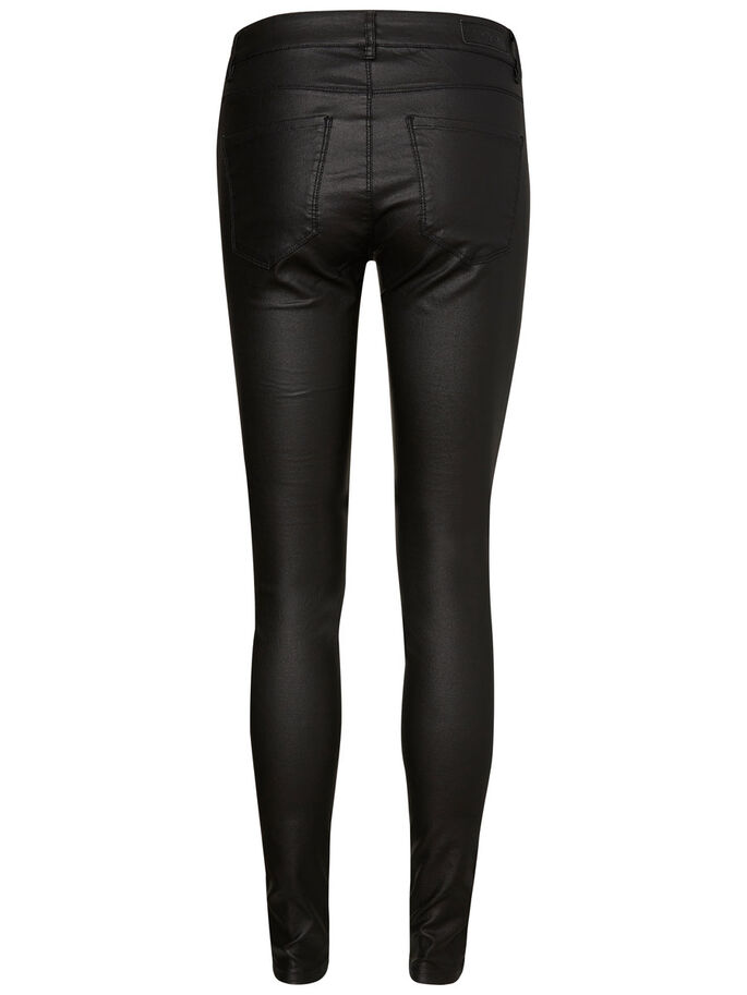 SEVEN NW BIKER TROUSERS, Black, large