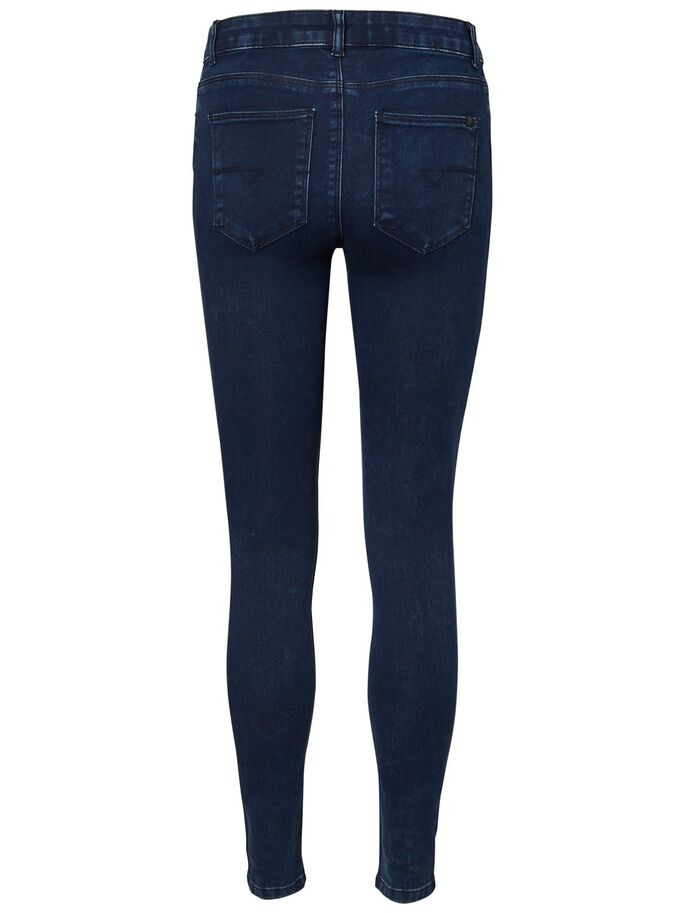 EXTREME LUCY NW SOFT SKINNY FIT JEANS, Dark Blue Denim, large