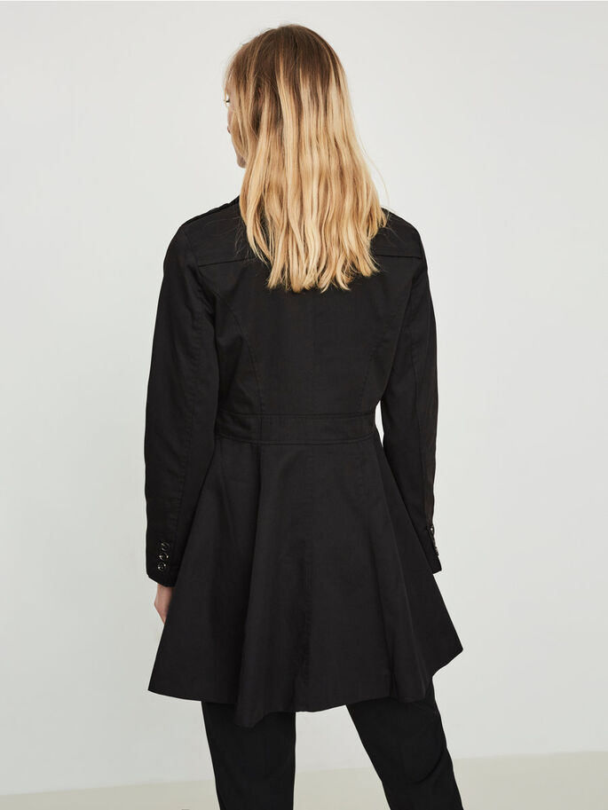 FÉMININ TRENCH, Black, large