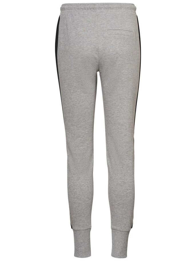 AWARE SWEAT PANTS, Light Grey Melange, large