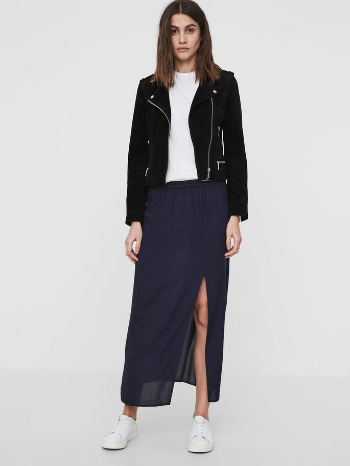 ANKLE SKIRT, Black Iris, large