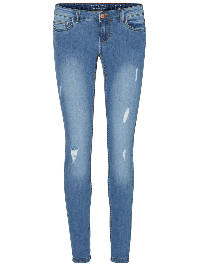 EVE LW JEANS, Light Blue Denim, large