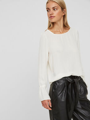 CASUAL LONG SLEEVED BLOUSE