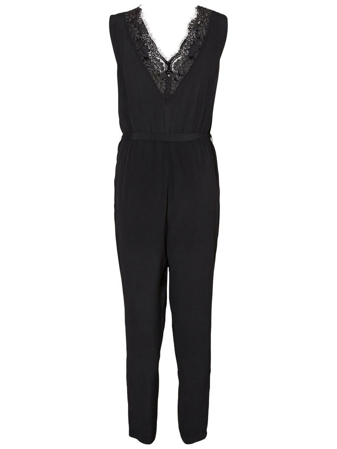 ÄRMELLOSER JUMPSUIT, Black, large