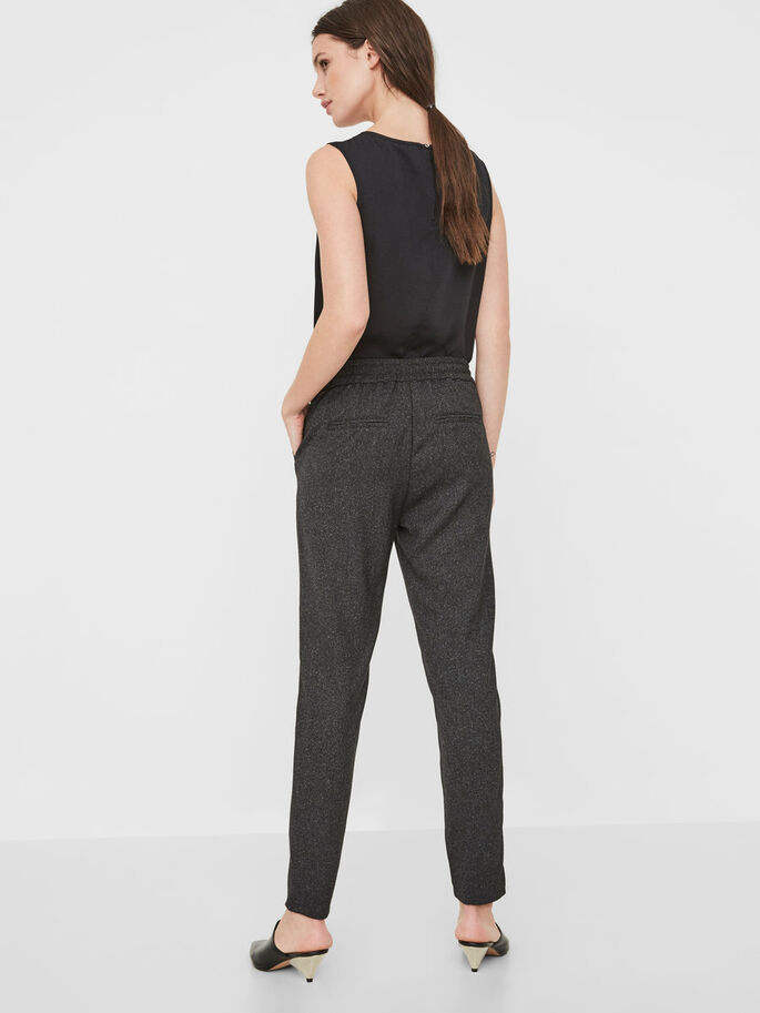 RORY NW LOOSE FIT TROUSERS, Black, large
