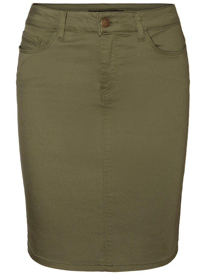 NW PENCIL SKIRT, Ivy Green, large