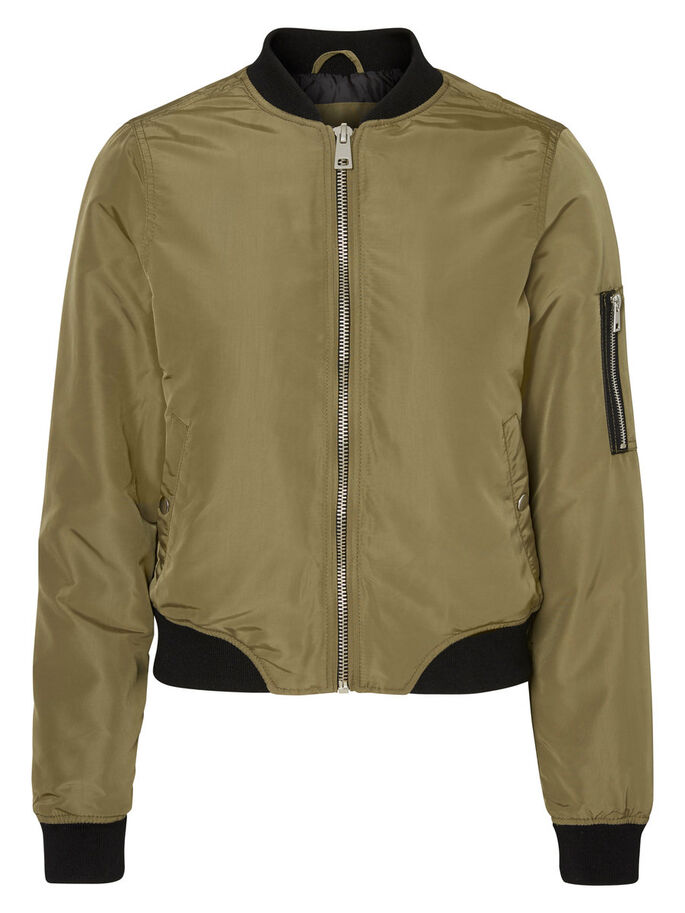 BOMBER JACKET, Ivy Green, large
