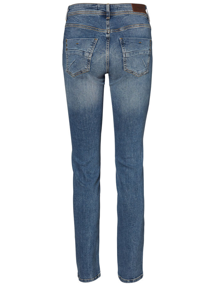 TAMMIE NW STRAIGHT FIT JEANS, Light Blue Denim, large