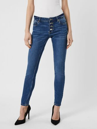VMLYDIA LOW WAISTED SKINNY FIT JEANS