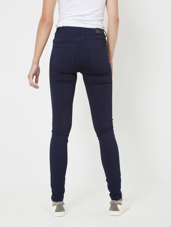 SEVEN NW SMOOTH JEGGINGS, Dark Blue Denim, large
