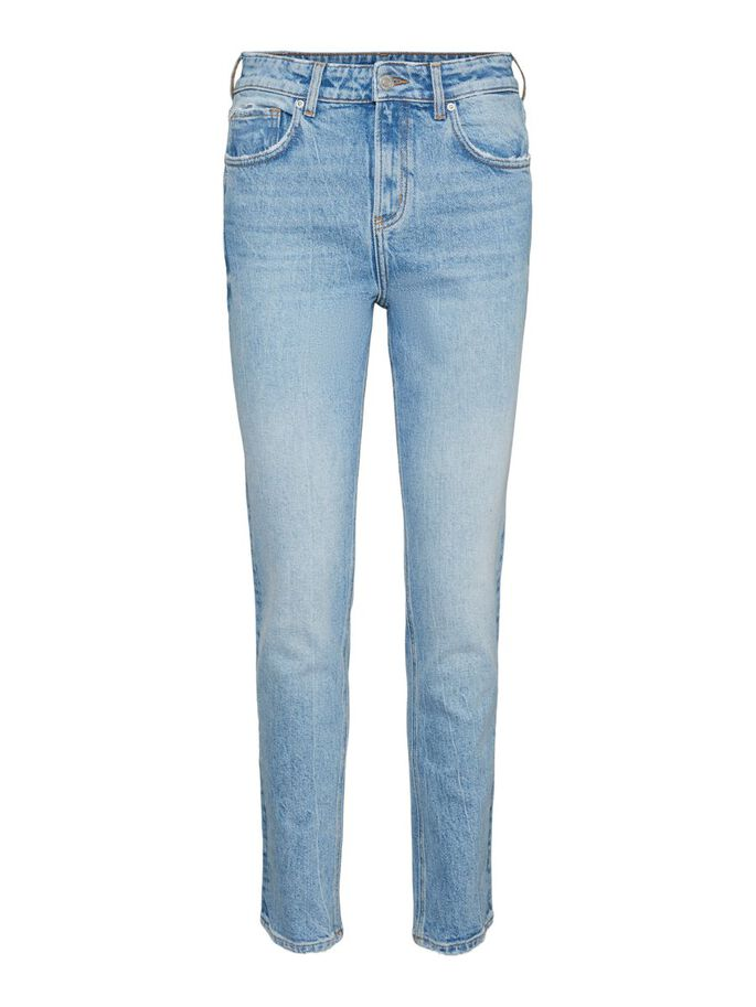 VMTRACY HIGH WAISTED SKINNY FIT JEANS, Light Blue Denim, large