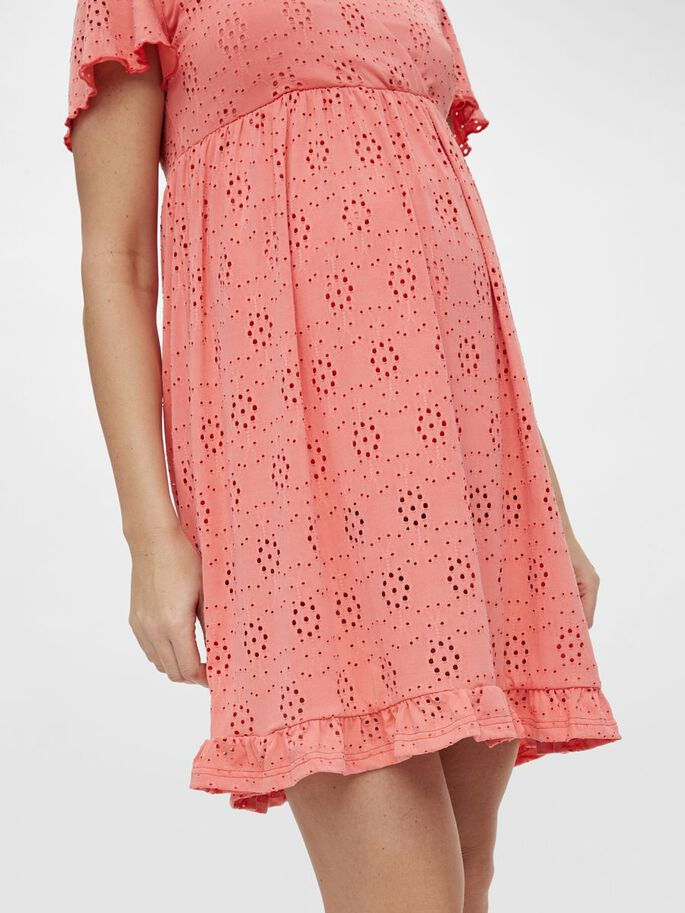 MLDENISE 2-IN-1 MATERNITY DRESS, Sugar Coral, large