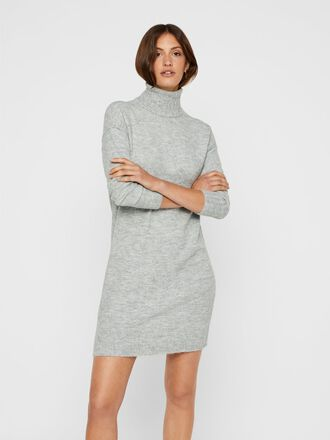 ROLLNECK MINI DRESS