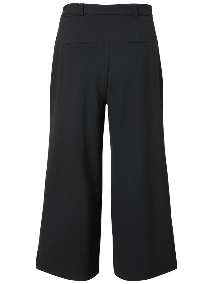 CULOTTES TROUSERS, Black, large