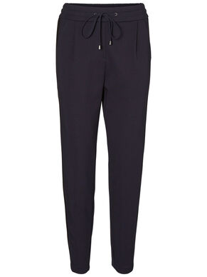 LOOSE FIT ANKLE TROUSERS