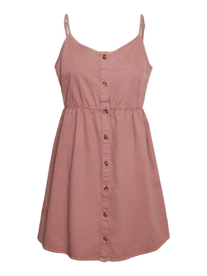 SLEEVELESS MINI DRESS, Old Rose, large