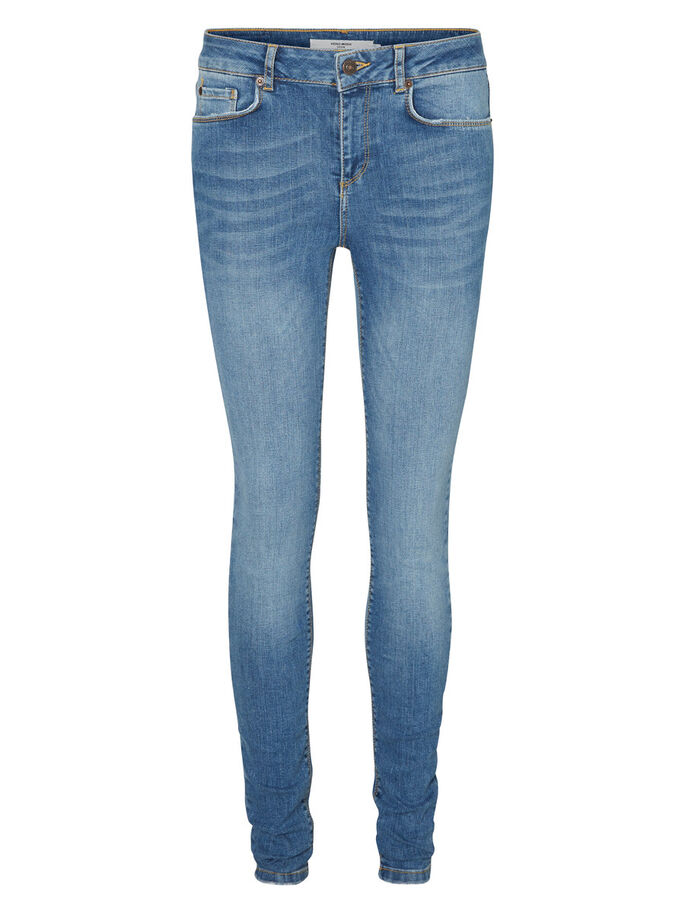 LUX NW SKINNY JEANS, Light Blue Denim, large
