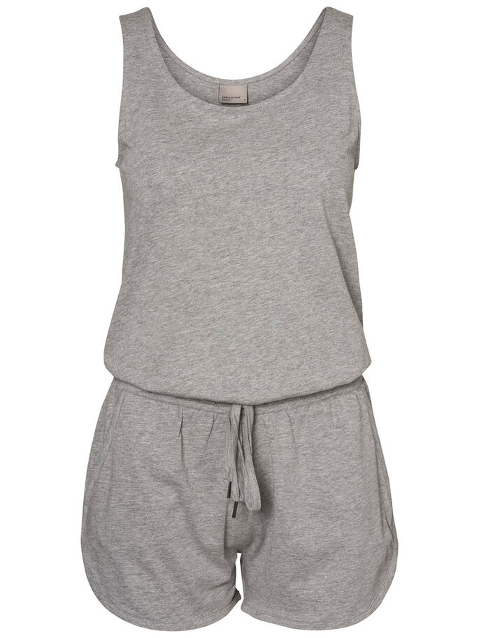 SOMMER- PLAYSUIT, Light Grey Melange, large