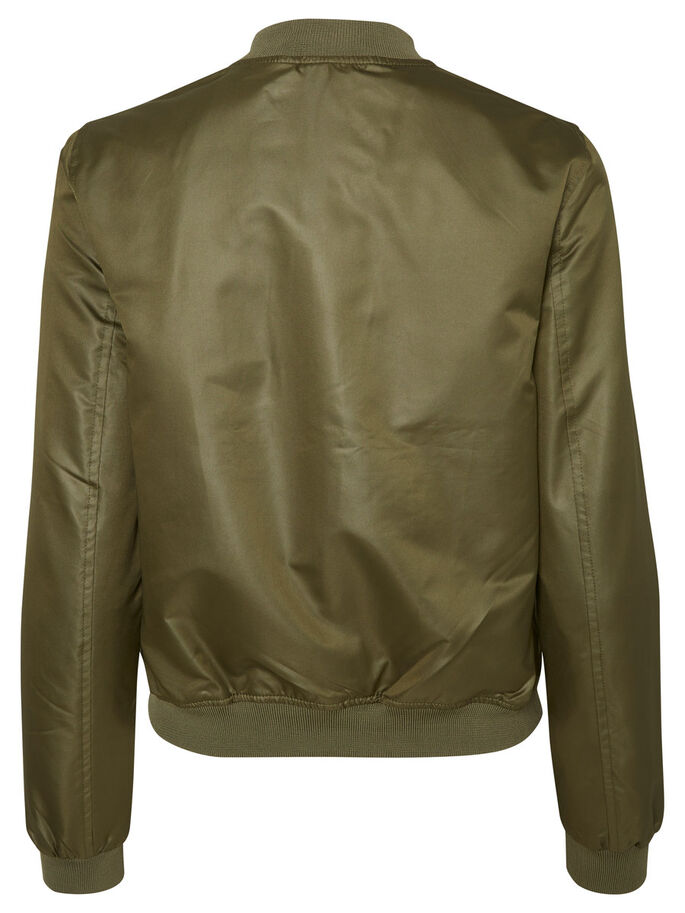 BOMBER BRILLANTE VESTE, Ivy Green, large
