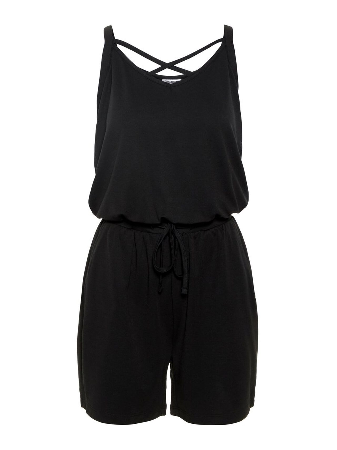 NOISY MAY Loose Fit Jumpsuit Women Black