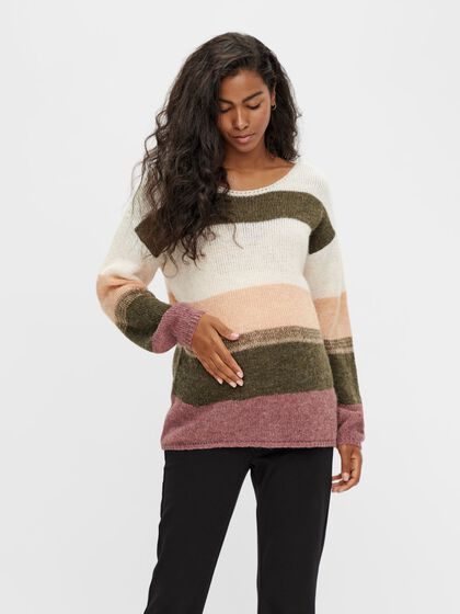 MLHARMONY KNIT MATERNITY PULLOVER