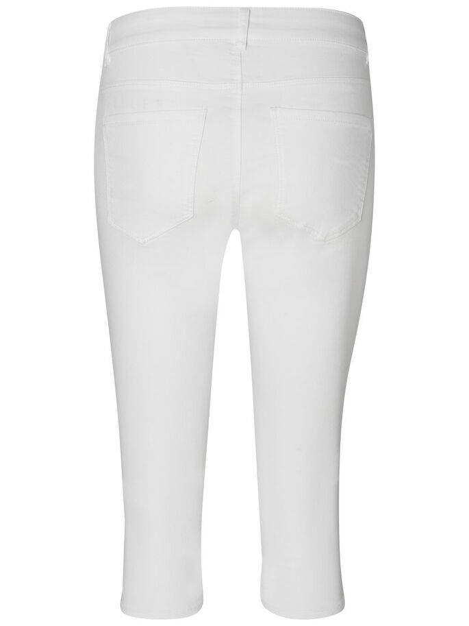 SEVEN NW CAPRIS, Bright White, large