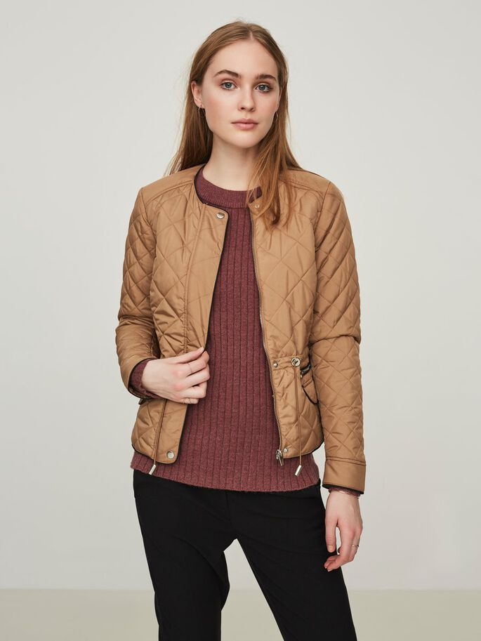 SHORT JACKET, Tigers Eye, large
