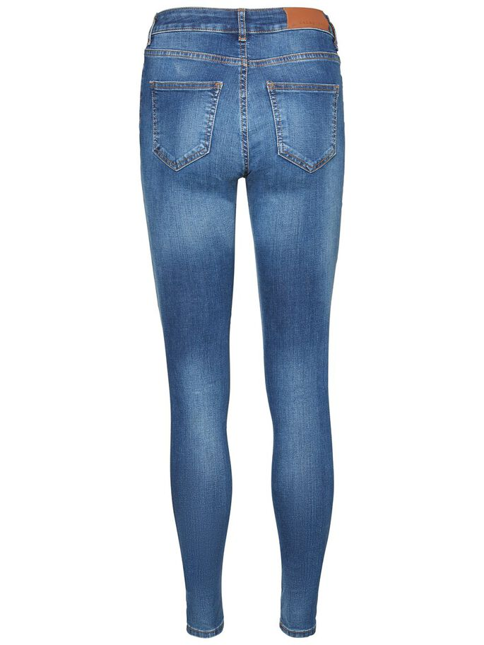 LUCY NW POWER SHAPE SKINNY FIT JEANS, Medium Blue Denim, large