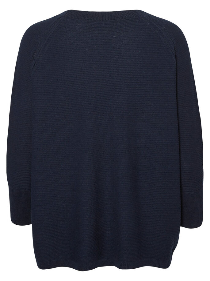 JERSEY- PULLOVER, Navy Blazer, large