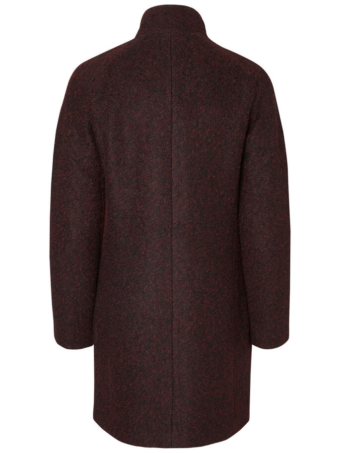 WOOL JACKET, Decadent Chocolate, large
