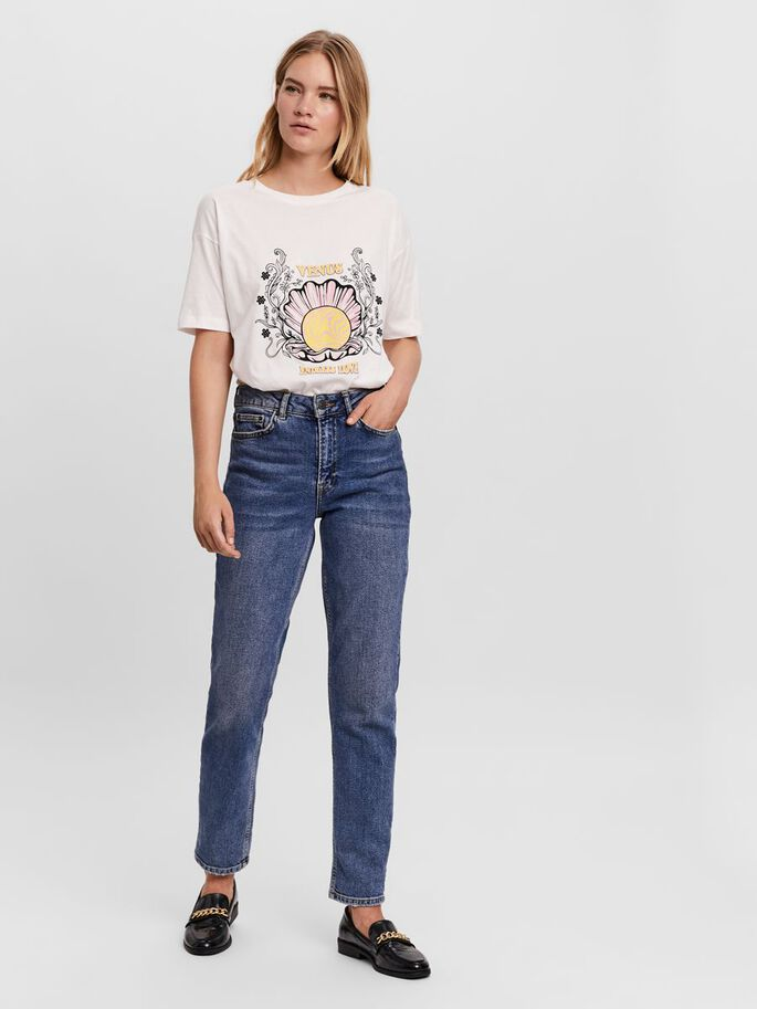 FRONT PRINTED T-SHIRT, Snow White, large