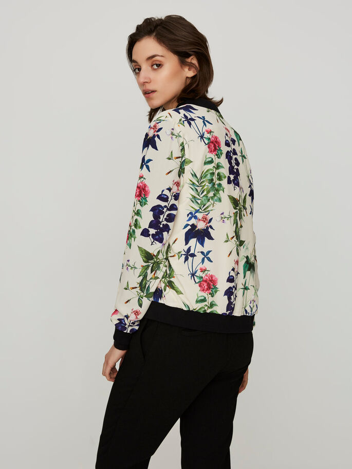 BOMBER JACKET, Moonbeam, large