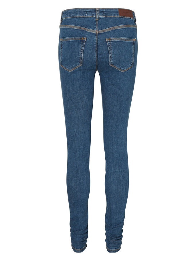 LUX NW SKINNY FIT-JEANS, Medium Blue Denim, large