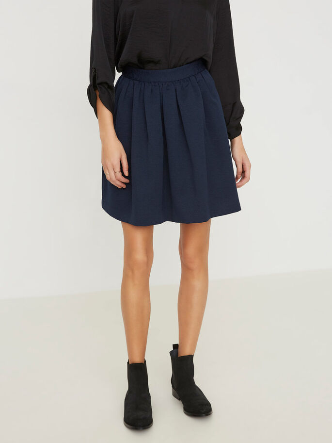 HW SKATER SKIRT, Total Eclipse, large