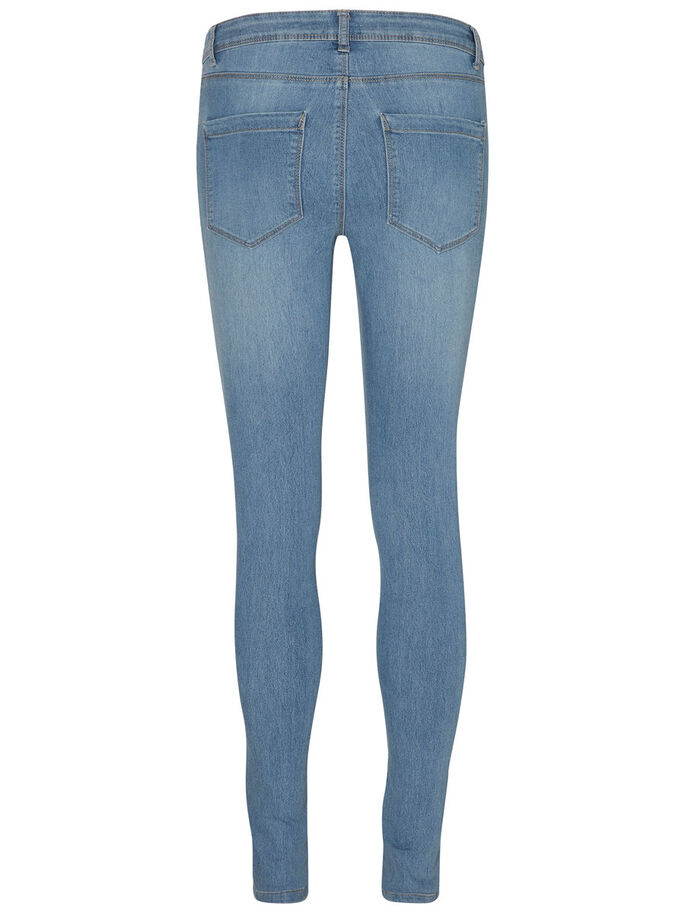 FLEX-IT NW SKINNY FIT JEANS, Light Blue Denim, large