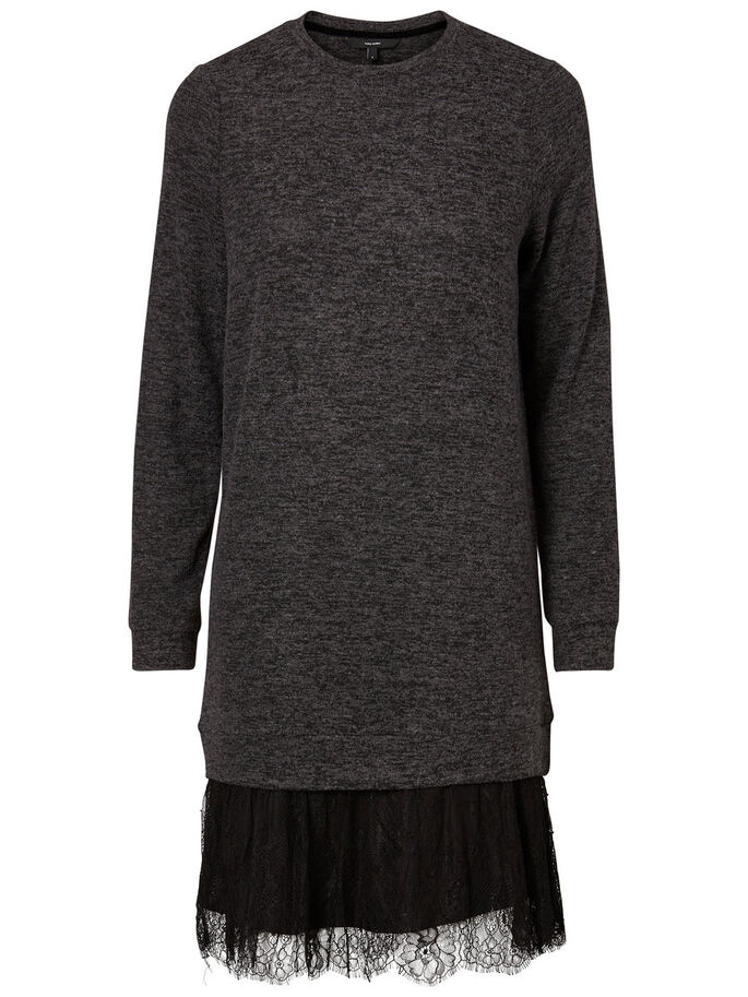 SWEAT JURK, Black, large