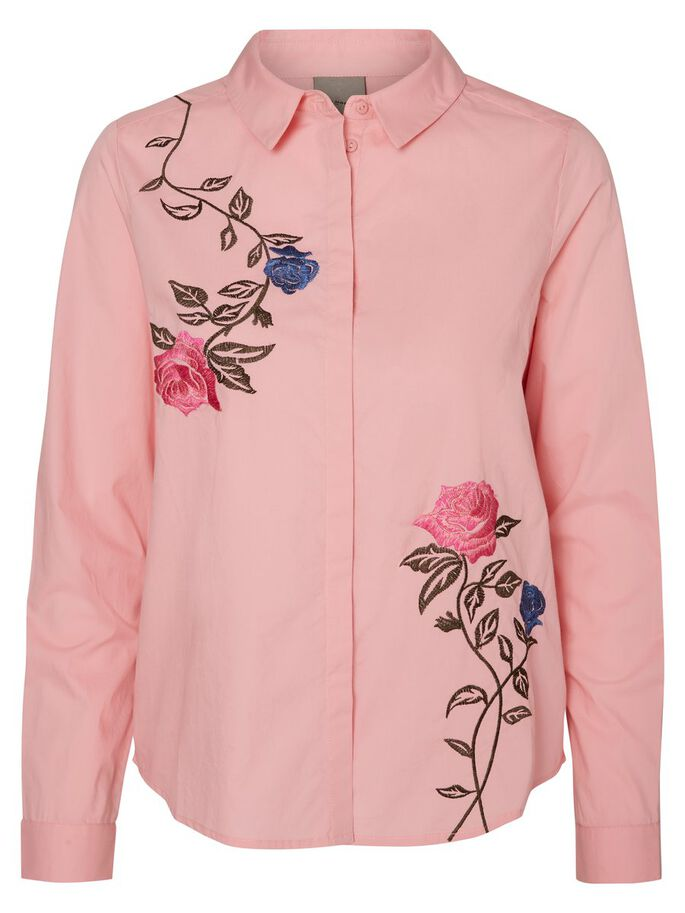 FEMININE LONG SLEEVED SHIRT, Peony, large