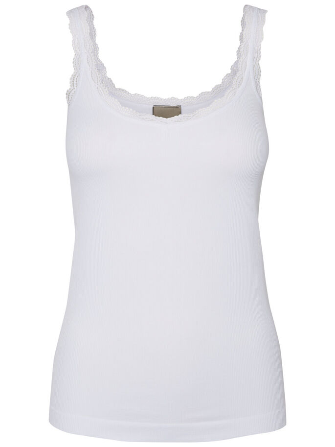SPITZEN- TOP, Bright White, large